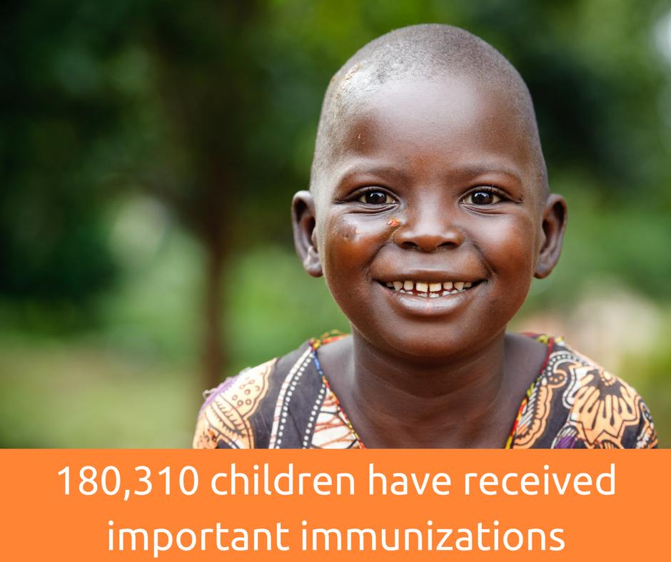 180,310 children have received immunizations