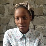 Deborah Muzi Uteta is a sixteen year old who came to Kitengela, Kenya in 2013. She hiked from Eastern Congo as a refugee. She is part of the refugee student community and is in her second year of secondary school.