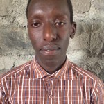 Dekin Kinihria was separated from his parents because of the war in Congo and is now a refugee student benefiting from the scholarship Covenant World Relief provides.