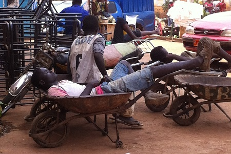 blog chillin wheelbarrow