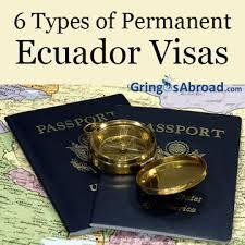 Ecuador Visa picture