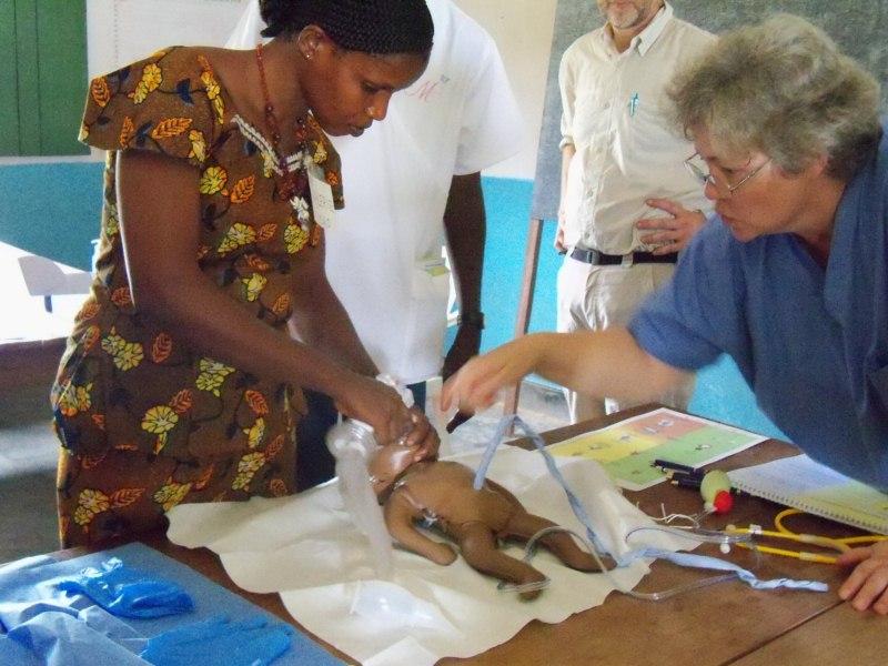Helping Babies Breathe In Congo Ekstrands In Congo
