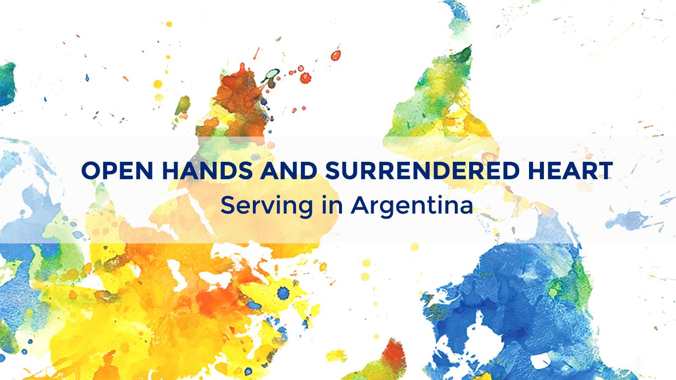 Open Hands and Surrendered Heart